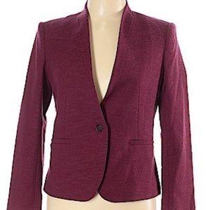LOFT 🍷Stylish Maroon and Burgundy jacket